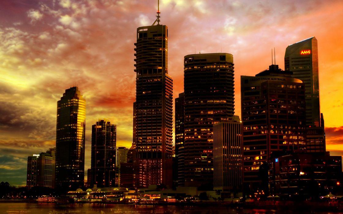 Brisbane australia cities wallpaper
