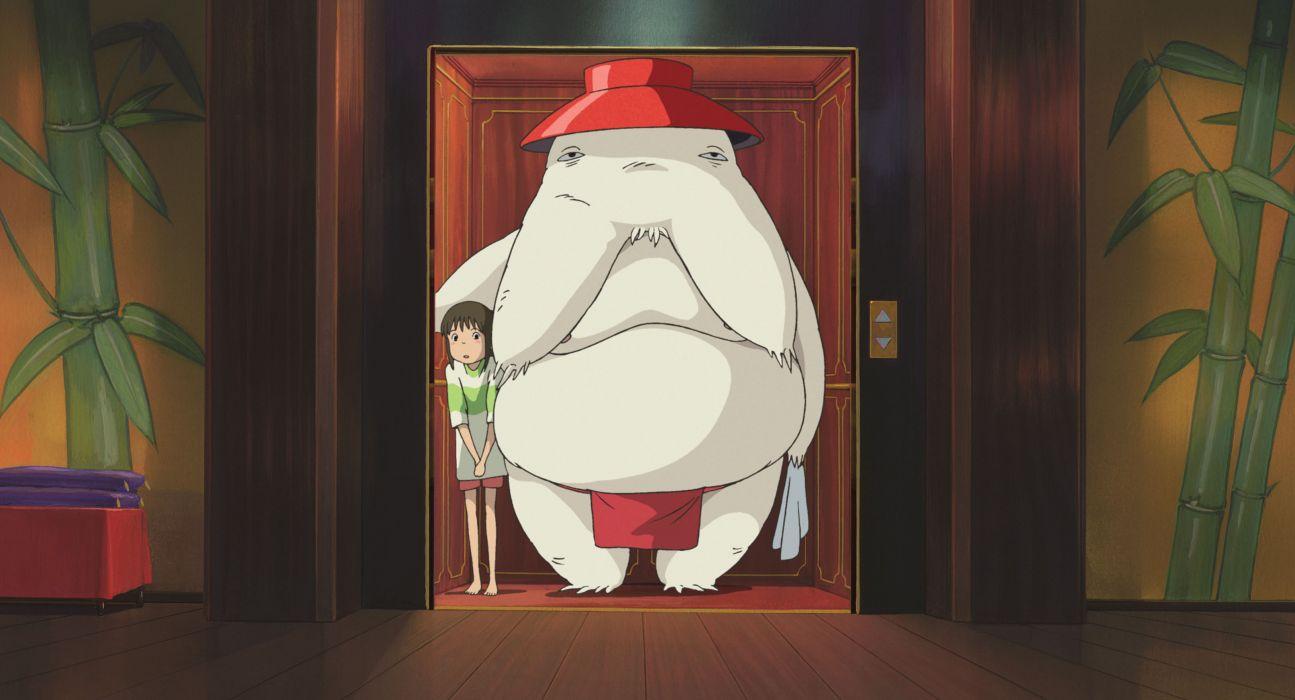 Monsters spirited away ogino chihiro studio ghibli wallpaper