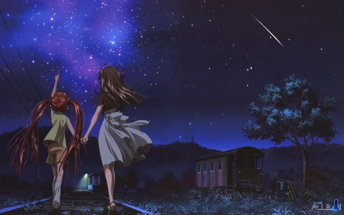 Night stars air (anime) wallpaper