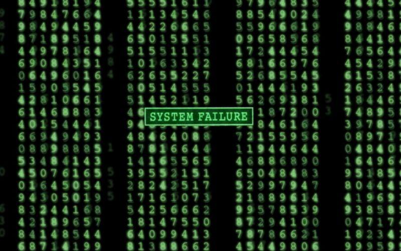 Green abstract system matrix artwork wallpaper