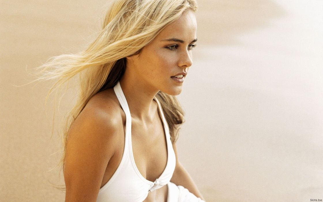 Women beach actress isabel lucas wallpaper