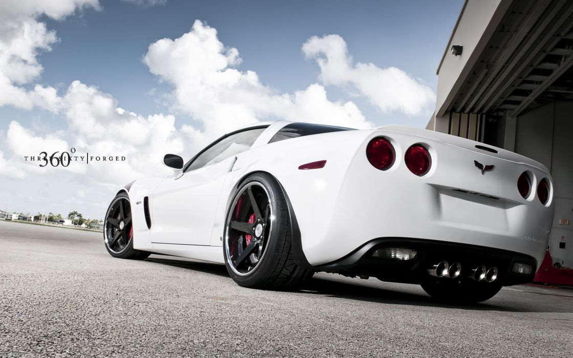 White cars vehicles supercars tuning chevrolet corvette 360 wheels chevrolet corvette z06 sport cars luxury sport cars speed automobiles wallpaper