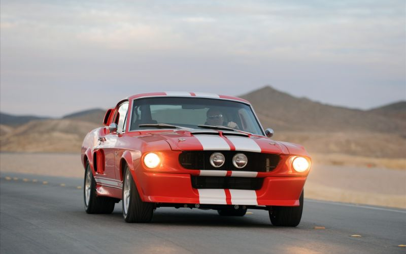 Red cars muscle cars vehicles ford mustang classic cars wallpaper