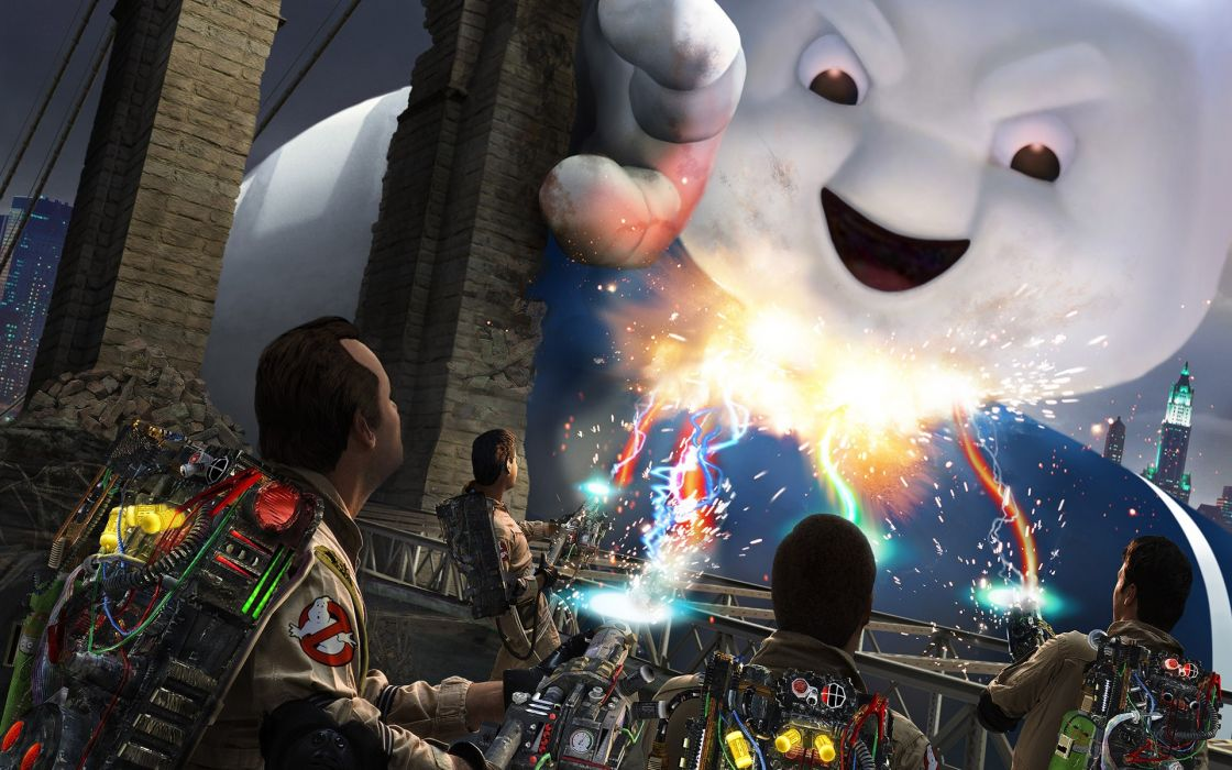 Video games ghostbusters games wallpaper