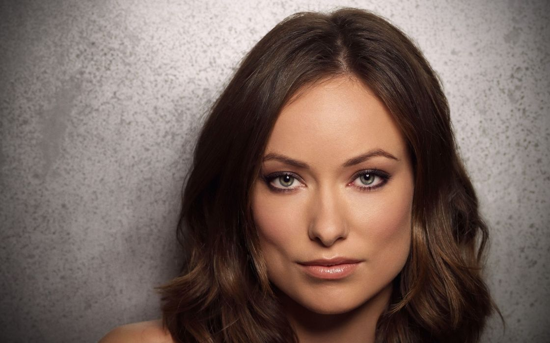 Brunettes women actress olivia wilde faces wallpaper