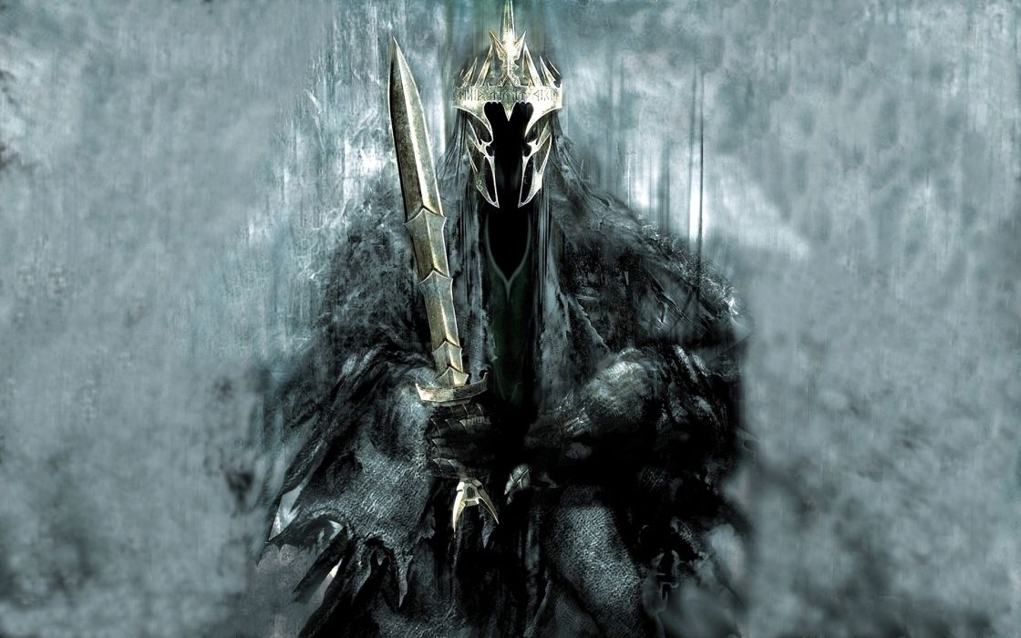 The lord of the rings fantasy art artwork drawings the witch king wallpaper