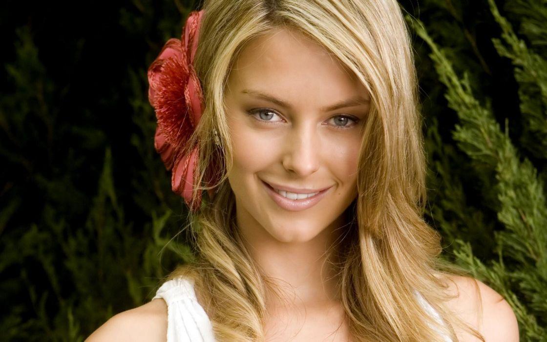 Blondes women jennifer hawkins wallpaper