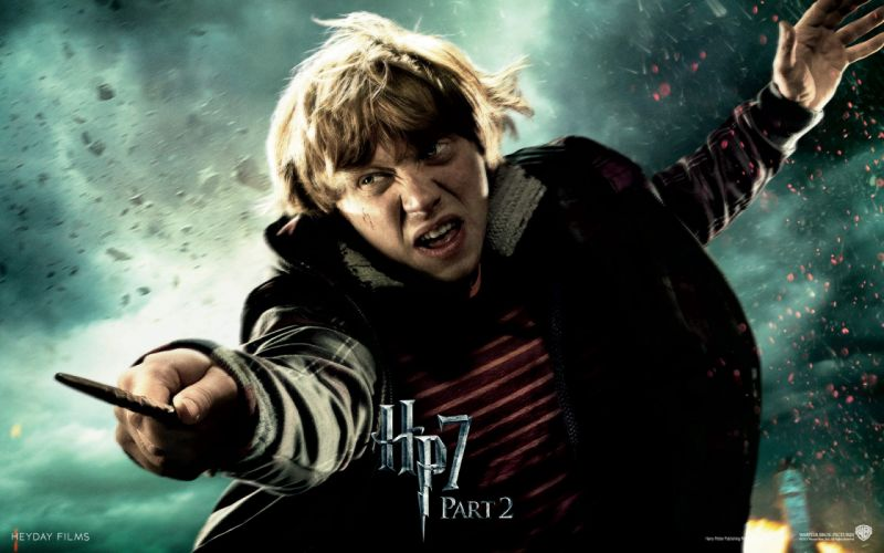 Fantasy movies film harry potter magic harry potter and the deathly hallows rupert grint movie posters ron weasley wallpaper