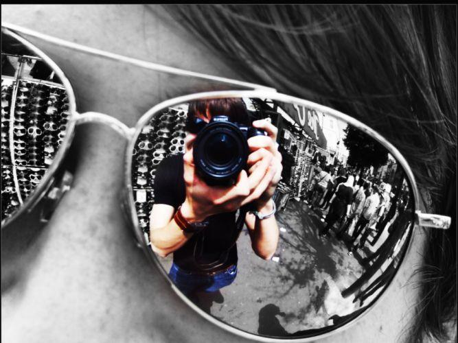 Sunglasses monochrome macro reflections ghazali ali wallpaper