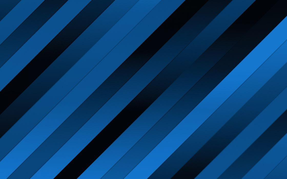 Blue design lines wallpaper