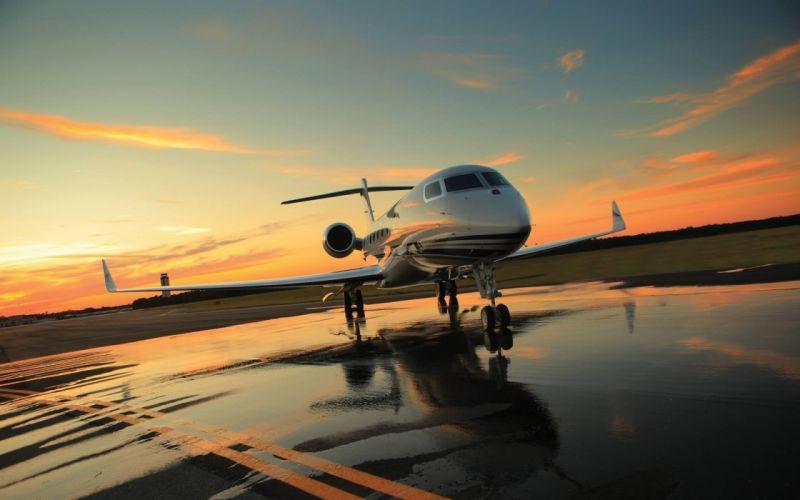 Aircraft skies wallpaper