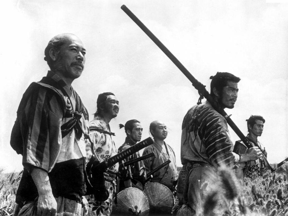 Japanese seven samurai wallpaper