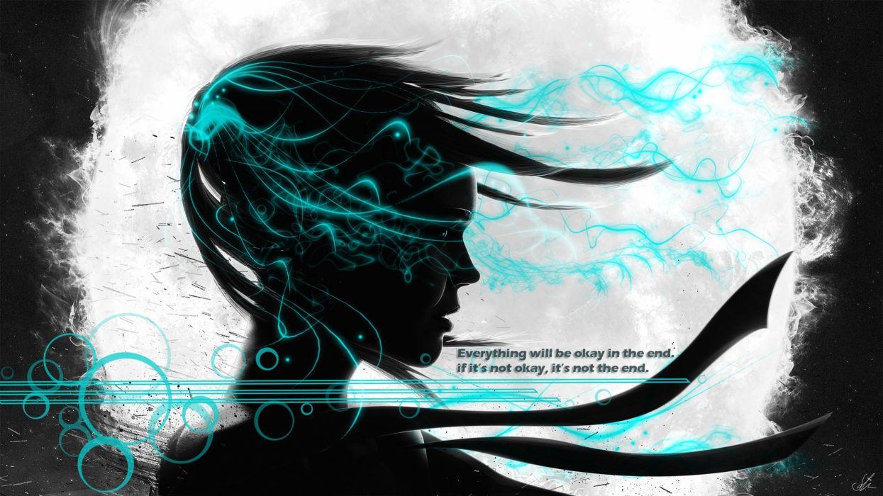 Quotes artwork vector art wallpaper
