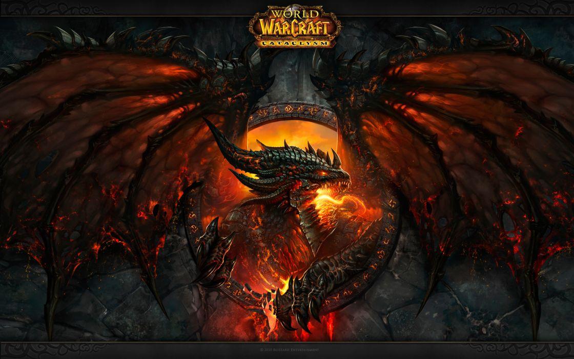World of warcraft world of warcraft cataclysm wallpaper