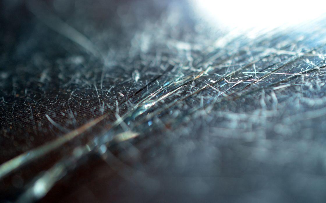 Scratches broken screen iphone macro micro blurred broken glass cracks wallpaper