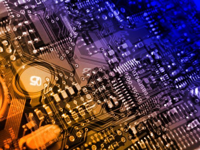 Computers components wallpaper