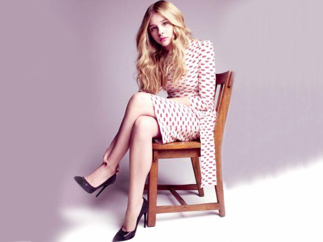 Blondes women actress chloe moretz wallpaper