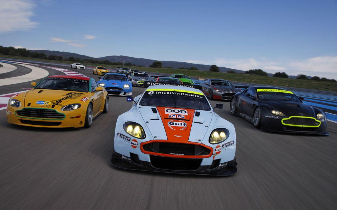 Cars aston martin sports vehicles wallpaper