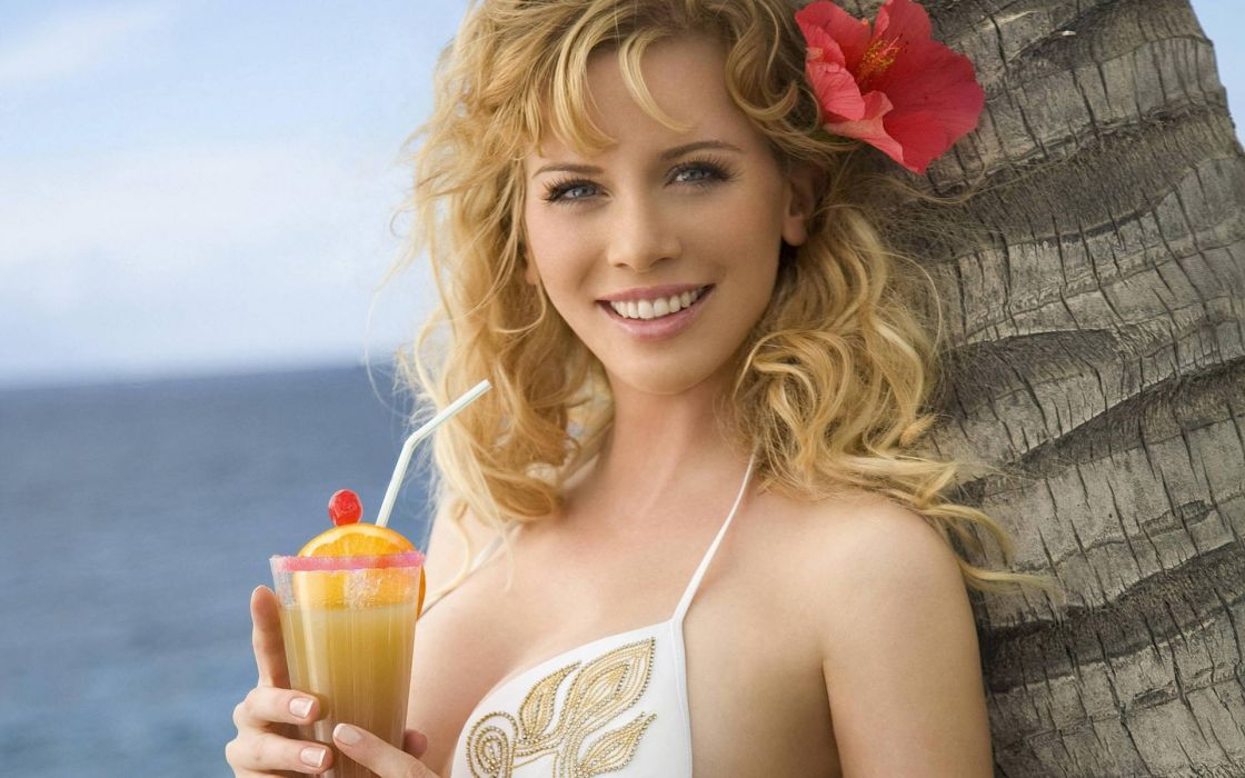 Blondes women eva habermann wallpaper