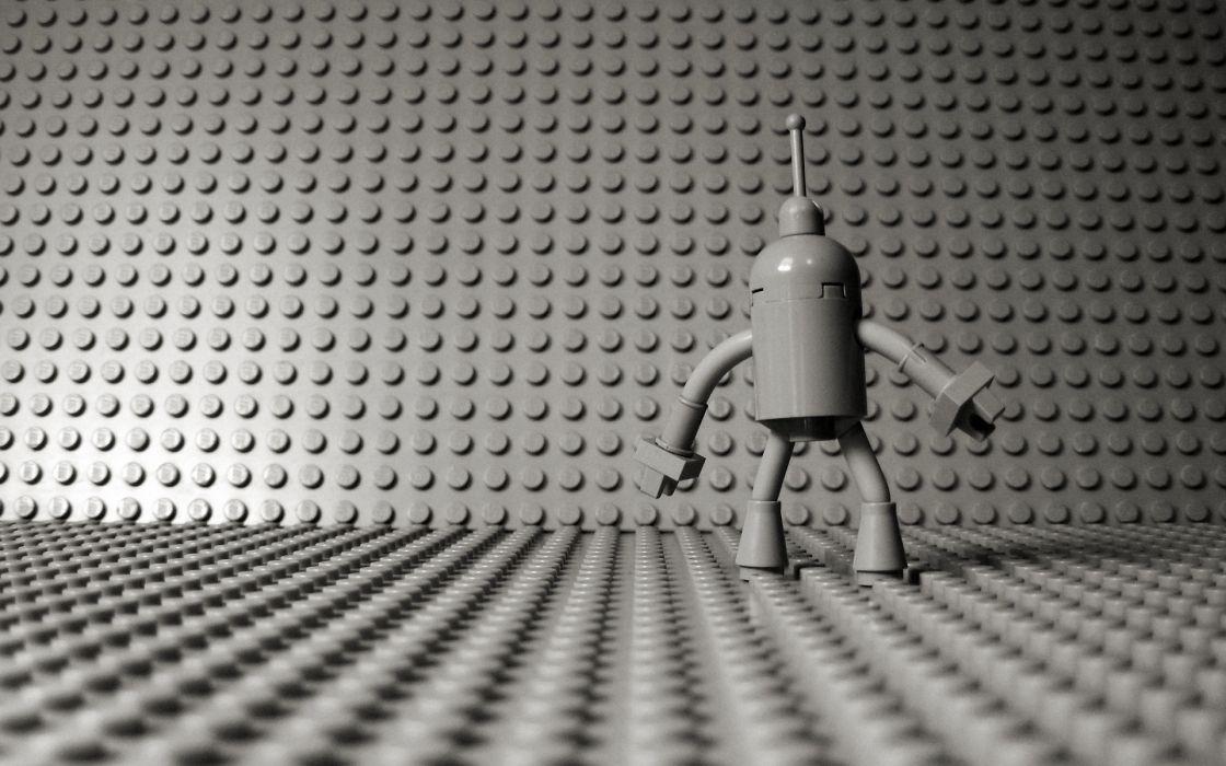Futurama bender lego wallpaper