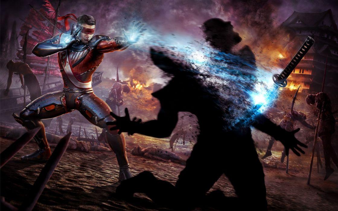 Video games fighting mortal kombat wallpaper