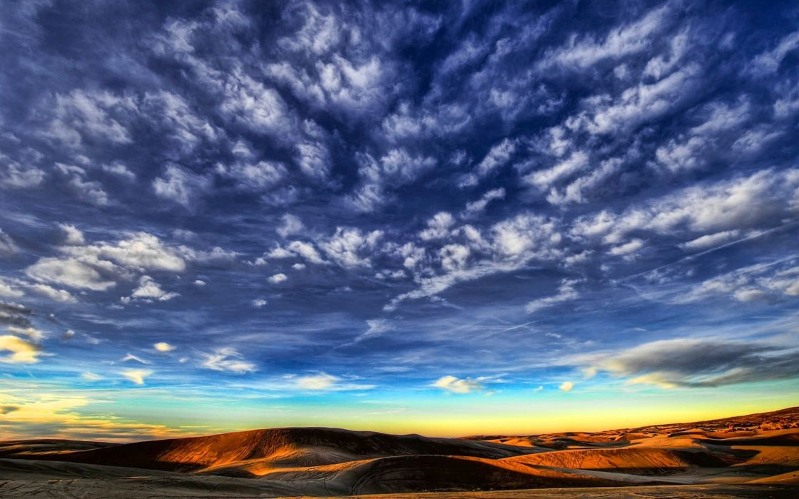 Clouds landscapes horizon skyscapes wallpaper