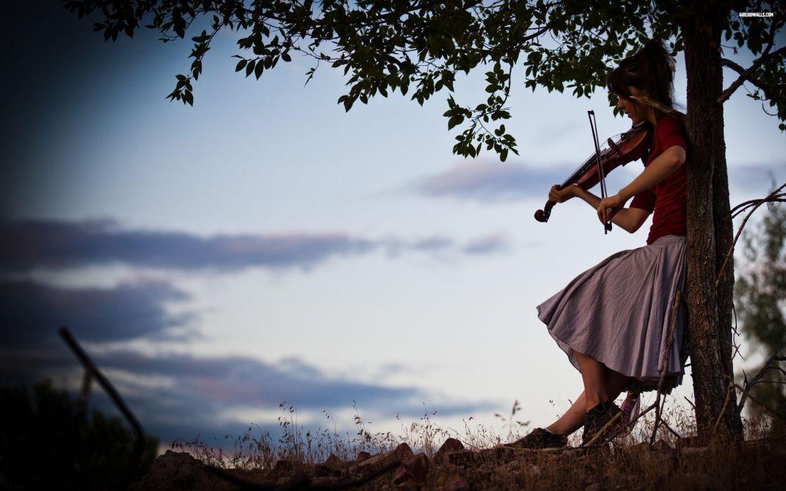 Lindsey stirling violinist wallpaper