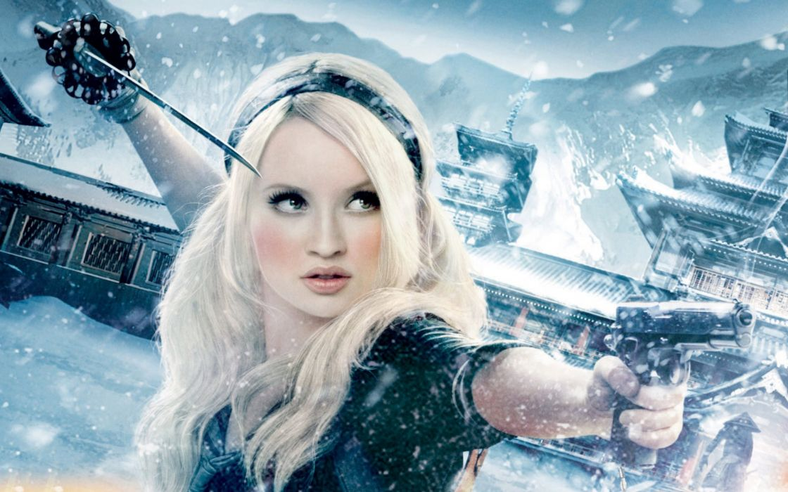 Blondes women movies emily browning sucker punch wallpaper