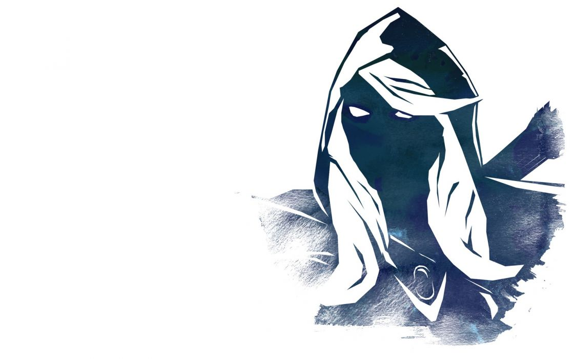 Video games valve corporation dota drow dota 2 vidya white background wallpaper