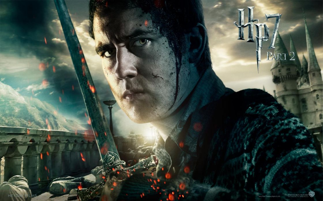 Fantasy movies film harry potter magic harry potter and the deathly hallows movie posters neville longbottom matthew david lewis wallpaper