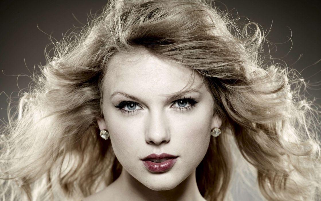 Blondes women taylor swift celebrity earrings faces wallpaper