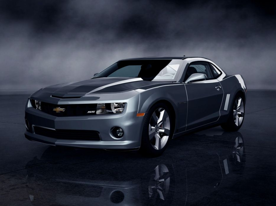 Cars silver chevrolet camaro camaro ss wallpaper