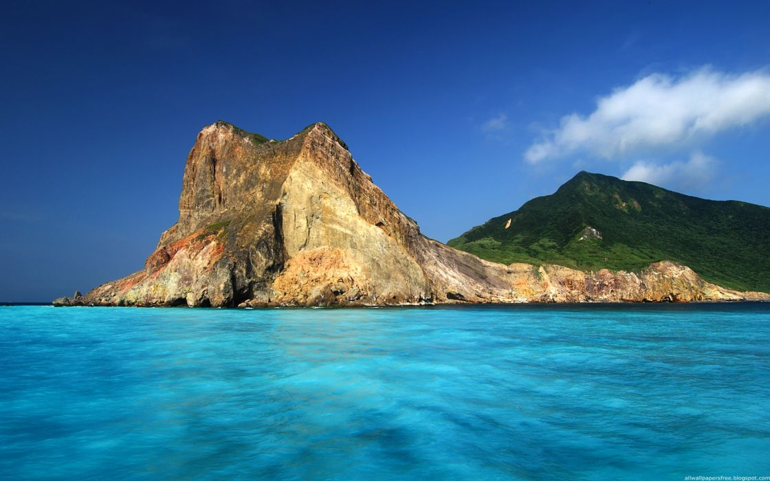 Landscapes islands wallpaper