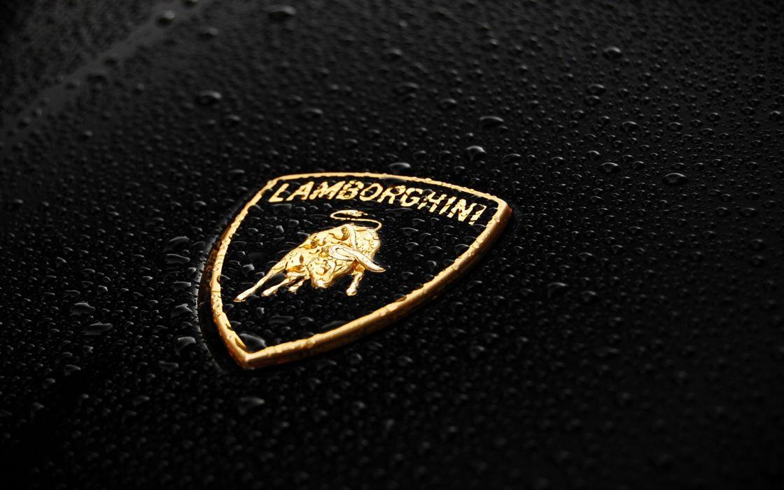 Cars lamborghini logos wallpaper
