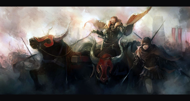 Fatezero rider (fatezero) alexander the great fate series wallpaper