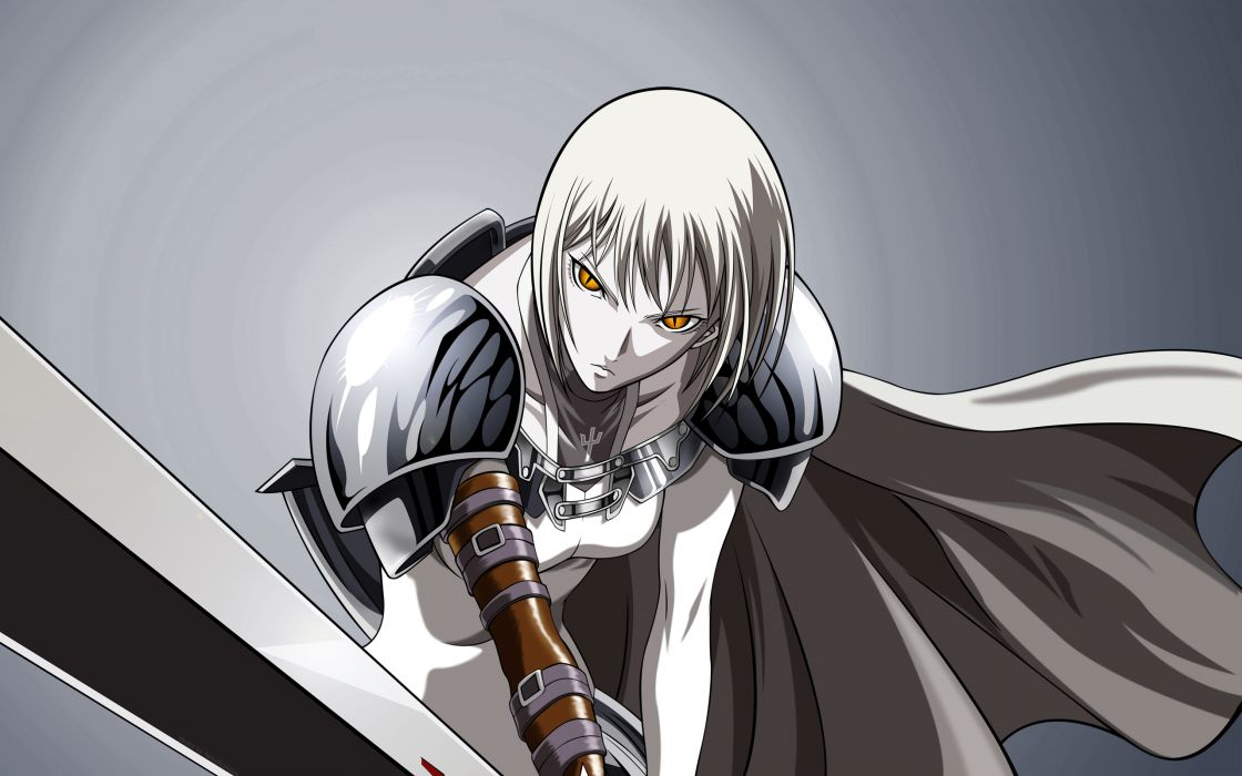 Claymore clare anime anime girls wallpaper