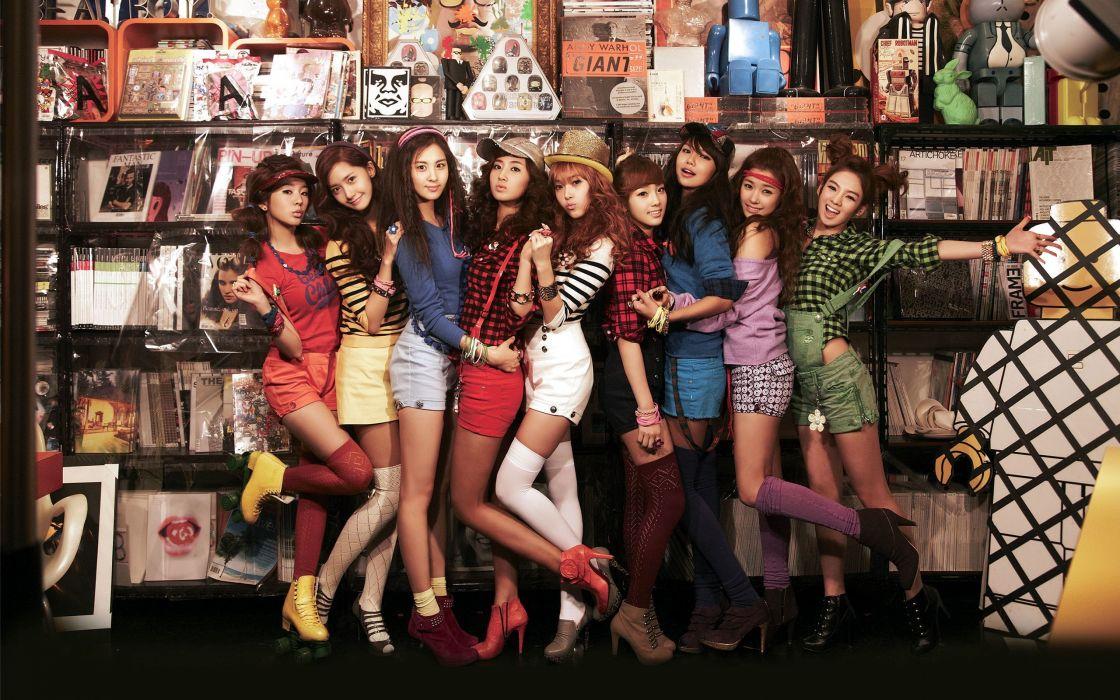 Women girls generation snsd headbands bracelets wallpaper