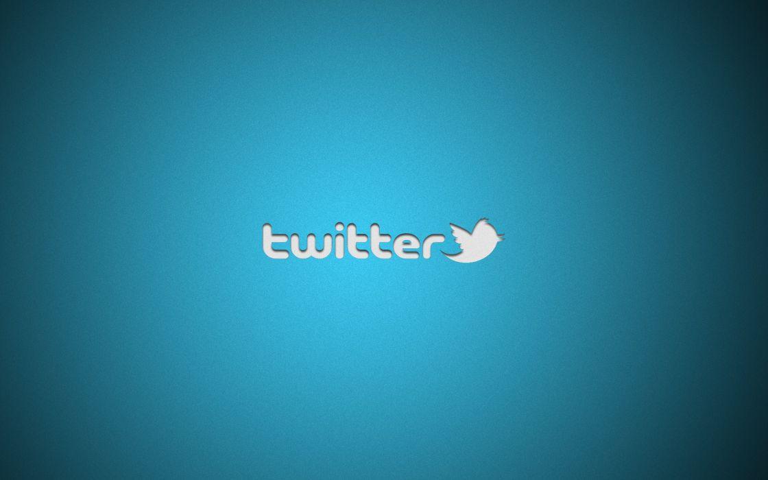 Minimalistic twitter wallpaper