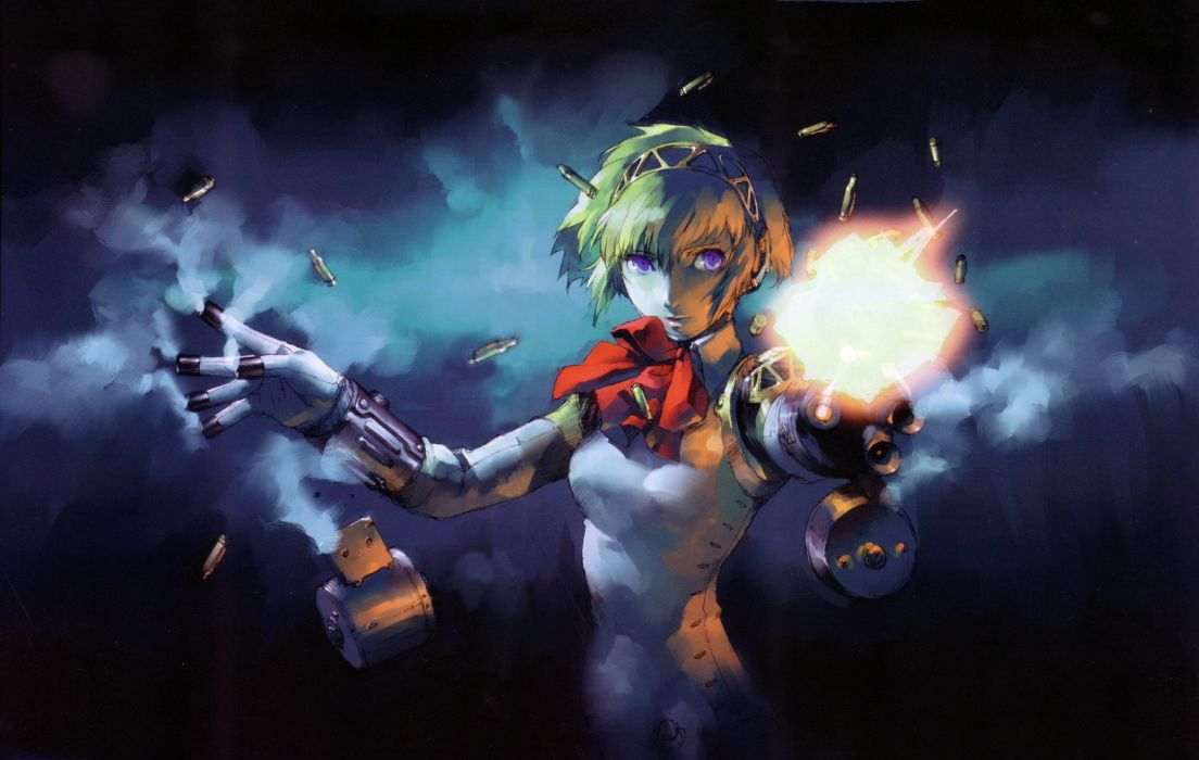 Persona series persona 3 artwork aigis wallpaper