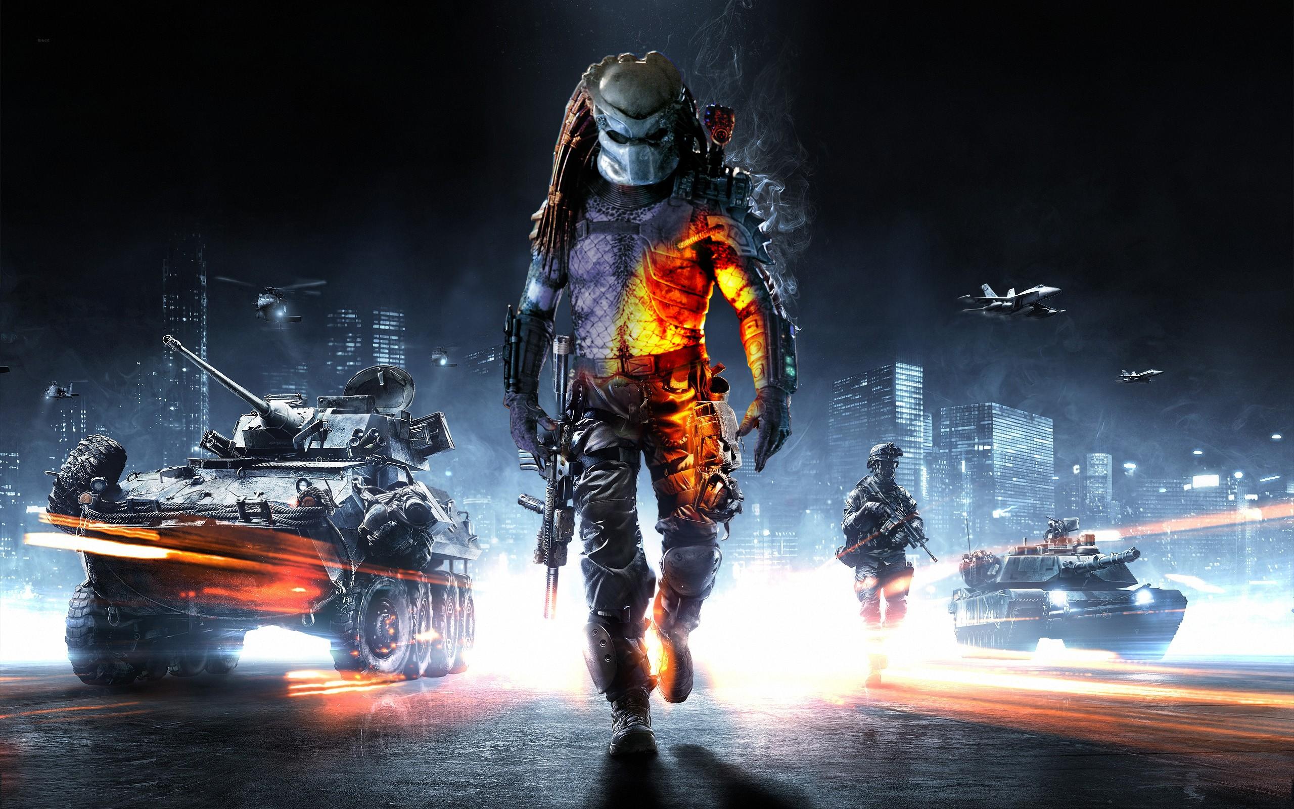 Predator Predators Battlefield 3 Madmark99 Wallpaper 2560x1600 16880 Wallpaperup