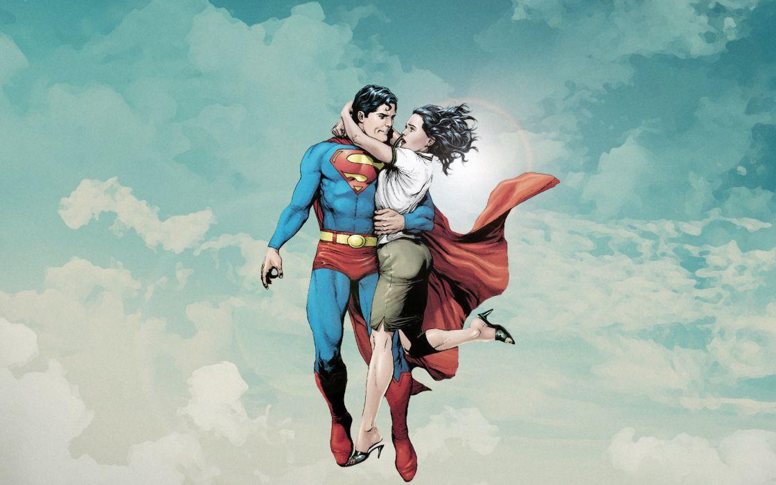 Dc comics comics superman lois lane wallpaper