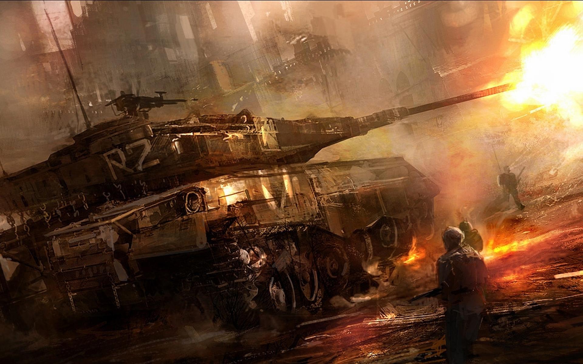 soldiers war military men tanks wallpaper 1920x1200