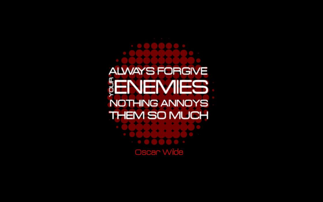 Texts quotes typography oscar wilde black background wallpaper