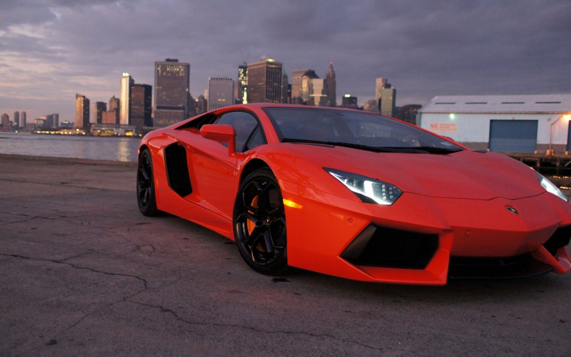 Cityscapes cars lamborghini vehicles aventadors wallpaper