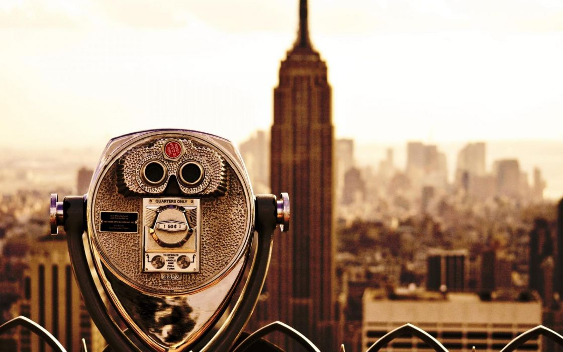 Cityscapes new york city empire state building wallpaper