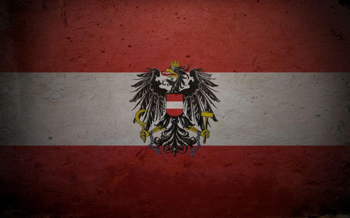 Austria flags wallpaper