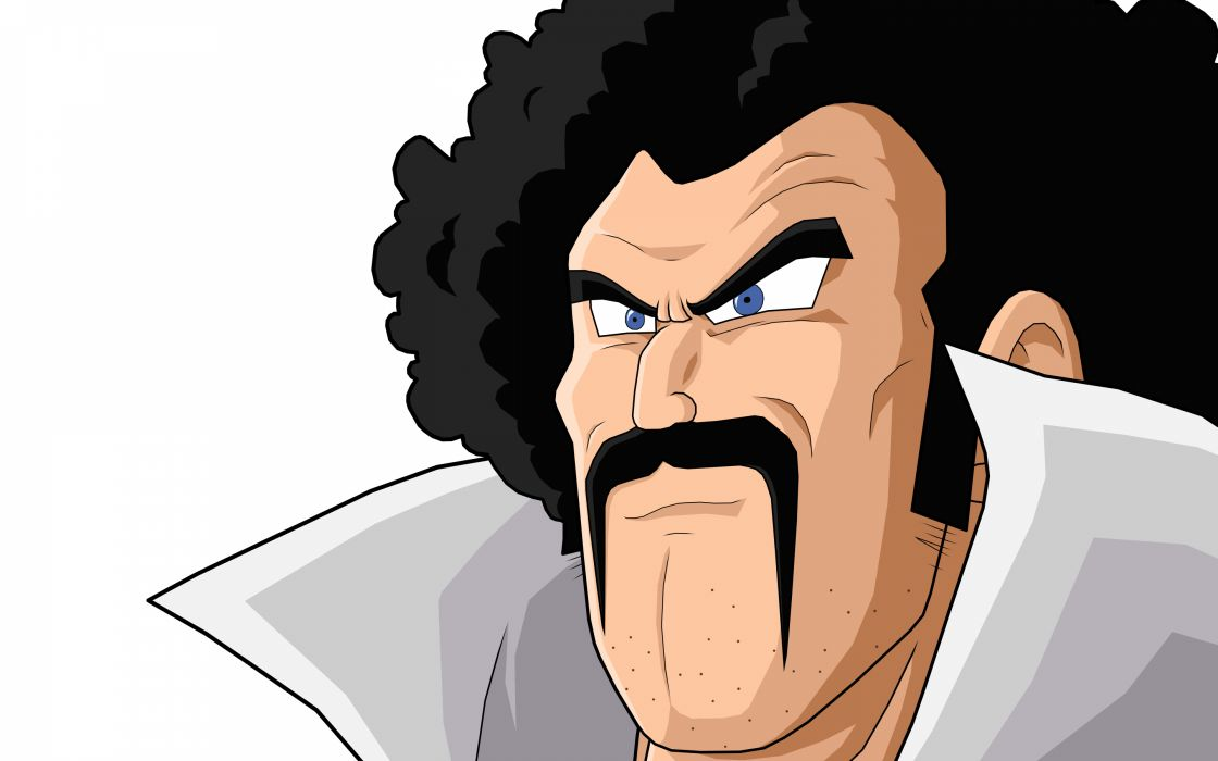 Afro anime hercule satan dragon ball z wallpaper