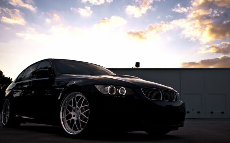 Bmw dark cars skyscapes wallpaper