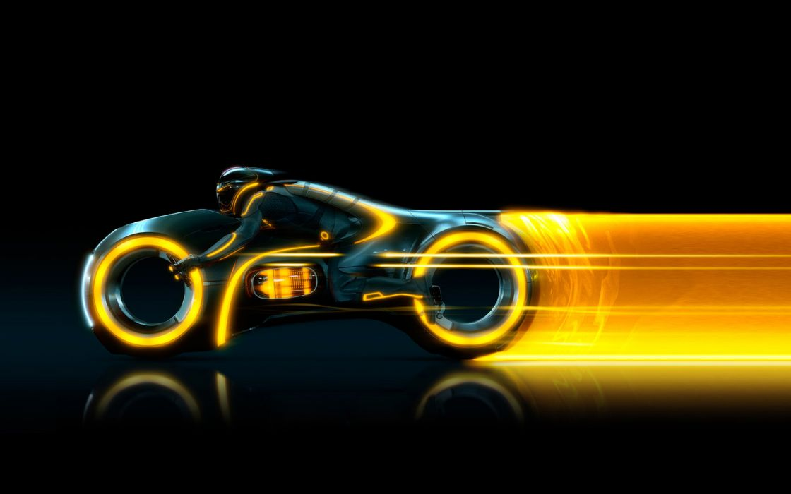Tron tron legacy lightcycle screens wallpaper
