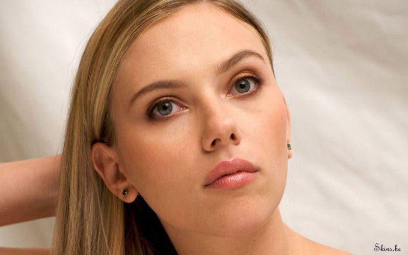 Women scarlett johansson actress faces wallpaper
